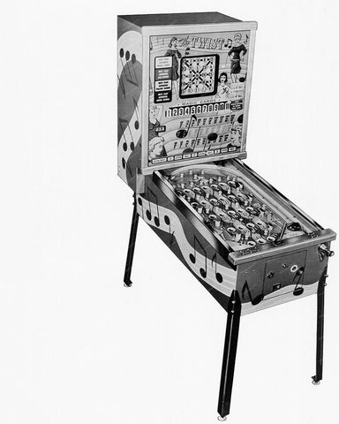 Bally Bingo The Twist Pinball Machine 1962 8x10 Reprint Of Old Photo - Photoseeum