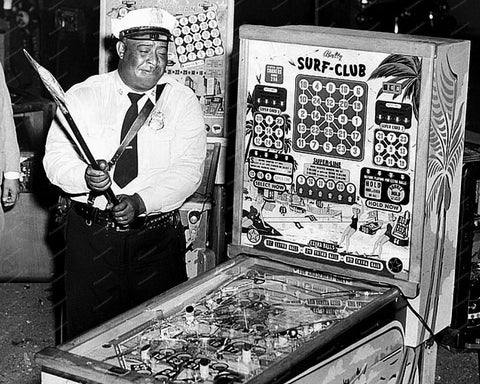 Bally Surf Club Bingo Pinball Machine 1954 8x10 Reprint Of Old Photo