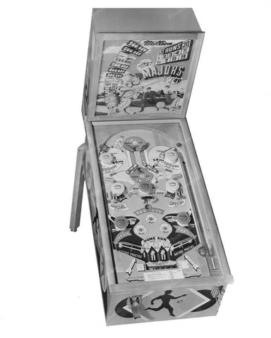 Chicago Coin Majors of '49 Pinball Machine 8x10 Reprint Of Old Photo