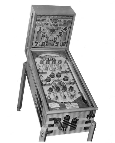 Genco Follies Of 1940 Pinball Machine 8x10 Reprint Of Old Photo