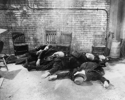 Grim St Valentines Day Massacre Scene 8x10 Reprint Of Old Photo