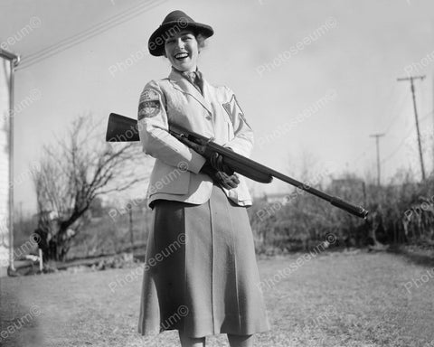 Womens National Skeet Shoot Association 1937 Vintage 8x10 Reprint Of Old Photo
