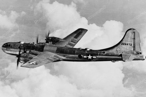 Boeing B-29 Super Fortress Airplane Mid Air Vintage Reprint 8x12 Old Photo