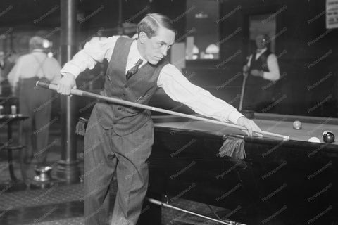 World Champ Billiard Jerome Keogh 1910s 4x6 Reprint Of Old Photo 2