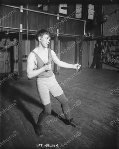 Bat Nelson Boxer Vintage 8x10 Reprint Of Old Photo