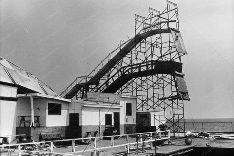 Diving Horse Platform at Steel Pier 4x6 Reprint Of Old Photo