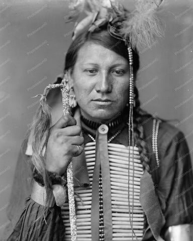 Amos Little A Sioux Indian 8x10 Reprint Of Old Photo - Photoseeum