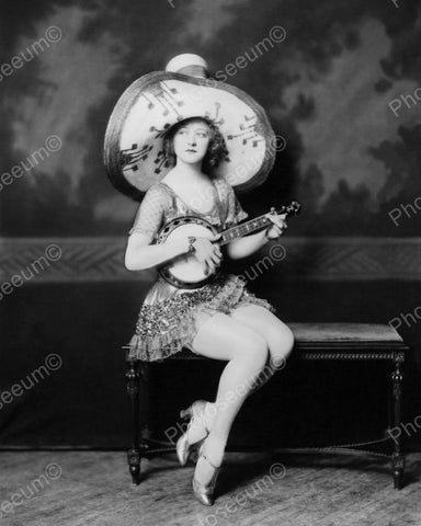 Ada May Weeks Show Girl Vintage 8x10 Reprint Of Old Photo - Photoseeum
