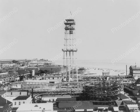 Coney Island NY Observation Tower 1900s 8x10 Reprint Of Old Photo