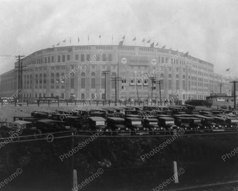 Yankee Stadium Bronx New York City 1925 Vintage 8x10 Reprint Of Old Photo