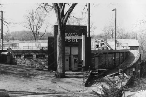 Glen Echo Amusement Park Crystal Pool 4x6 Reprint Of Old Photo