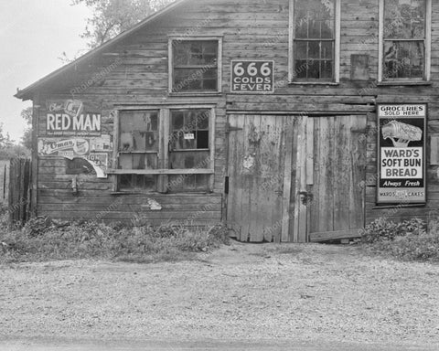 Wards Soft Bun Bread Barn Sign 1938 Vintage 8x10 Reprint Of Old Photo