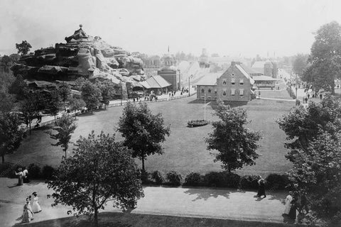 Willow Grove Park Pennsylvania 1900s 4x6 Reprint Of Old Photo