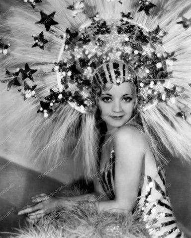 Alice White Showgirl Vintage 8x10 Reprint Of Old Photo