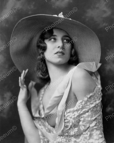 Albertina Vitak Show Girl Vintage 8x10 Reprint Of Old Photo 1