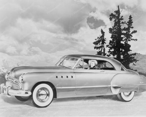Buick Roadmaster Riviera 1949 Coupe Car 8x10 Reprint Of Old Photo