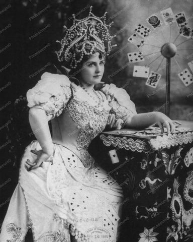 Lillian Russell Fortune Teller 1920s 8x10 Reprint Of Old Photo