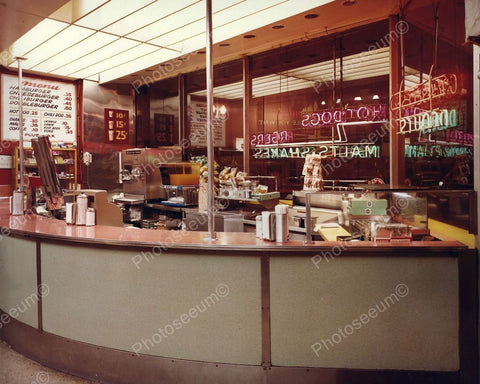Arcade Snack Bar Vintage 1960's 8x10 Reprint Old Photo - Photoseeum
