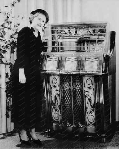 Wurlitzer Jukebox Model 1250 8x10 Reprint Of Old Photo
