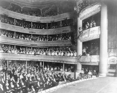 Audience In Majestic Opera House 8x10 Reprint Of Old Photo