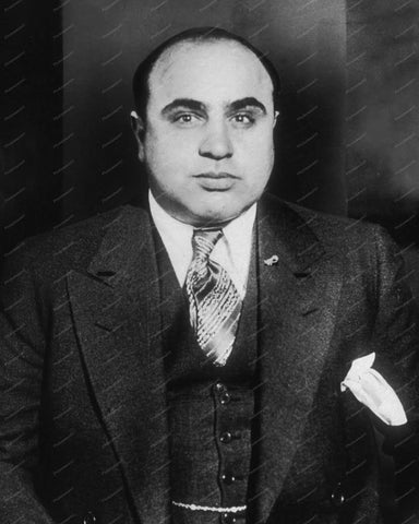 Al Capone Around 1935 Vintage 8x10 Reprint Of Old Photo