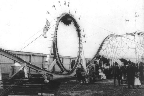 Coney Island NY The Flip Flap Ride 4x6 Reprint Of Old Photo - Photoseeum