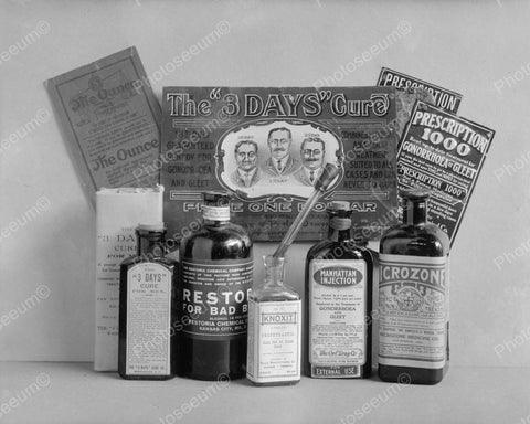 Venereal Diseases Cure Vintage 8x10 Reprint Of Old Photo