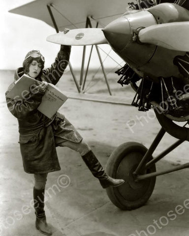 How To Fly A Plane 1929 Vintage 8x10 Reprint Of Old Photo