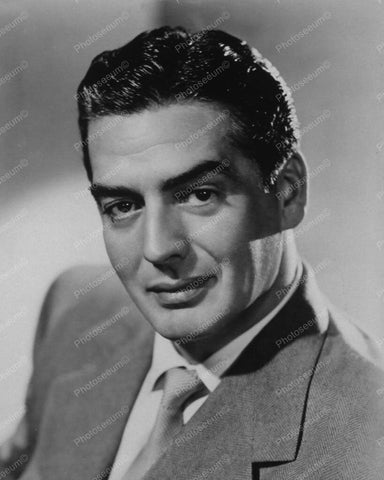 Victor Mature Classic Portrait 1950s 8x10 Reprint Of Old Photo