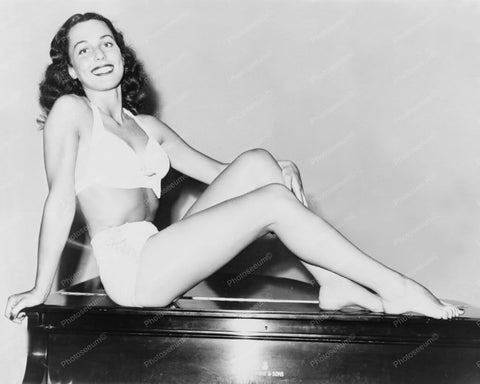 Bess Myerson Miss America Swimsuit 1940s 8x10 Reprint Of Old Photo