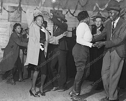 Black Couples Enjoy Juke Joint Dance! 8x10 Reprint Of Old Photo - Photoseeum