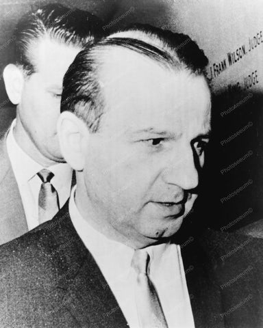 Jack Ruby Candid 8x10 Reprint Of Old Photo