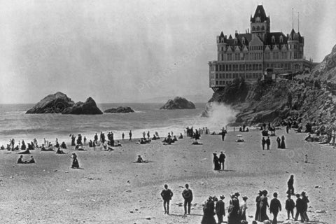 California San Francisco Cliff House 1900 4x6 Reprint Of Old Photo - Photoseeum