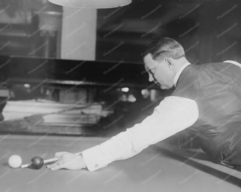 Billiards Champion Ora Morningstar 8x10 Reprint Of 1910s Old Photo