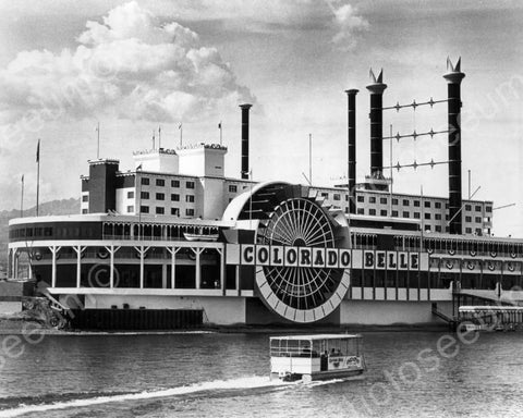 Colorado Belle Riverboat Ship 8x10 Reprint Of Old Photo