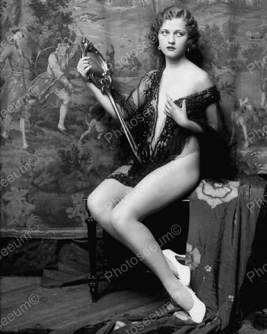 Anne Lee Patterson Show Girl Vintage 8x10 Reprint Of Old Photo 3 - Photoseeum