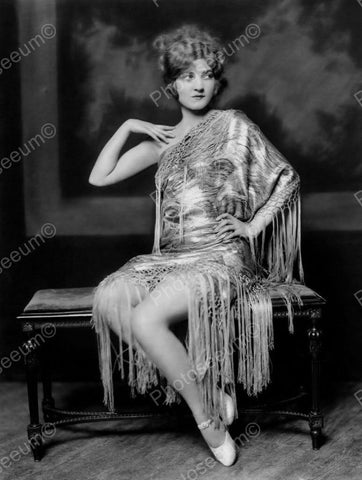 Bernice Ackerman Show Girl Vintage 8x10 Reprint Of Old Photo