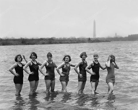 Bathing Suits From 1925 Vintage 8x10 Reprint Of Old Photo