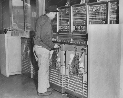 4 Bally Citations Pinball Machine Vintage 8x10 Reprint Of Old Photo
