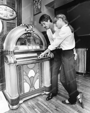 Wurlitzer Jukebox 1050 Vintage 8x10 Reprint Of Old Photo - Photoseeum
