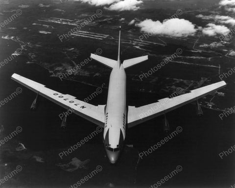 Boeing 707 America's 1st Jet Transport Vintage 1950s Reprint 8x10 Old Photo