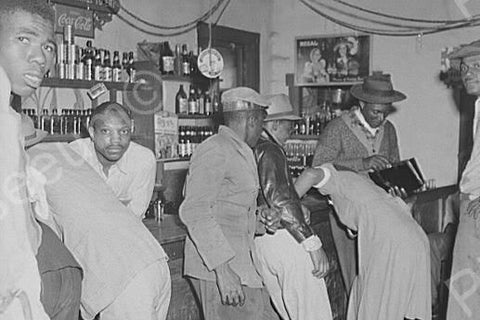 Busy Juke Joint Scene 4x6 Reprint Of Old Photo - Photoseeum