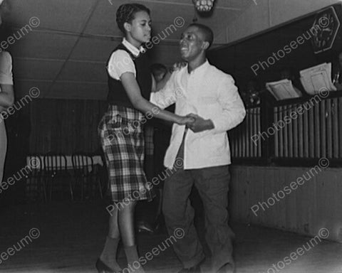 Black Couple Enjoy Juke Joint Dance 8x10 Reprint Of Old Photo