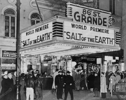 86th Grande Theatre Busy Entrance 1900s Vintage 8x10 Reprint Of Old Photo - Photoseeum
