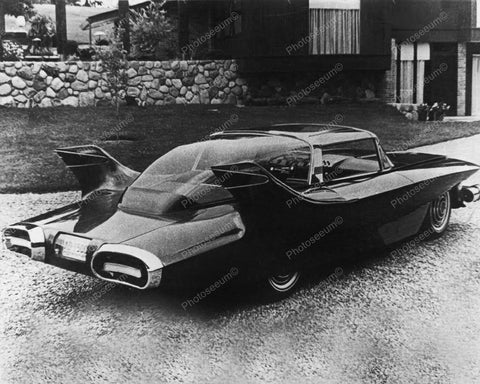 Custom Futuristic Looking Car Vintage 8x10 Reprint Of Old Photo