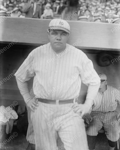 Babe Ruth New York Baseball 1921 Vintage 8x10 Reprint Of Old Photo 2
