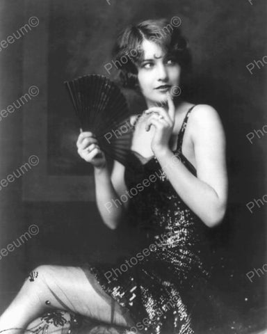 Barbara Stanwyck Show Girl Vintage 8x10 Reprint Of Old Photo