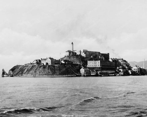 Alcatraz Island Prison 1930s 8x10 Reprint Of Old Photo