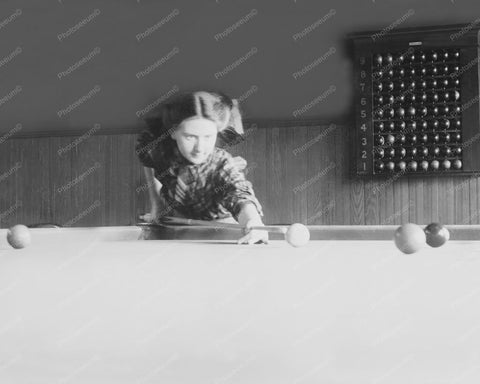 Billiards Champ Martha Clearwater 8x10 Reprint Of 1910 Old Photo 2