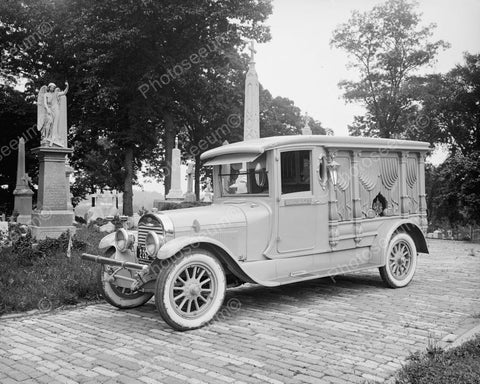 Ford Motor Co Hanlon Lincoln Hearse Vintage 8x10 Reprint Of Old Photo 1